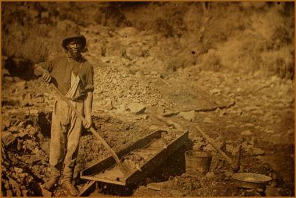 places for amateur mining