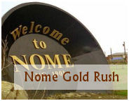 the gold rush of nome alaska